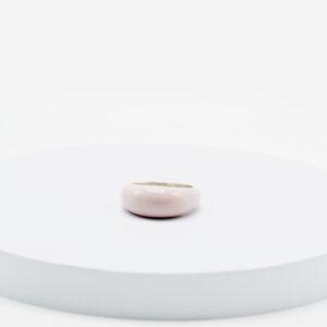 anillo candy lila en plata .925